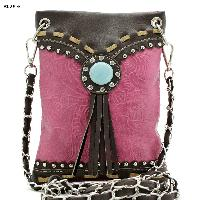 Hot Pink Conch Hipster Bag